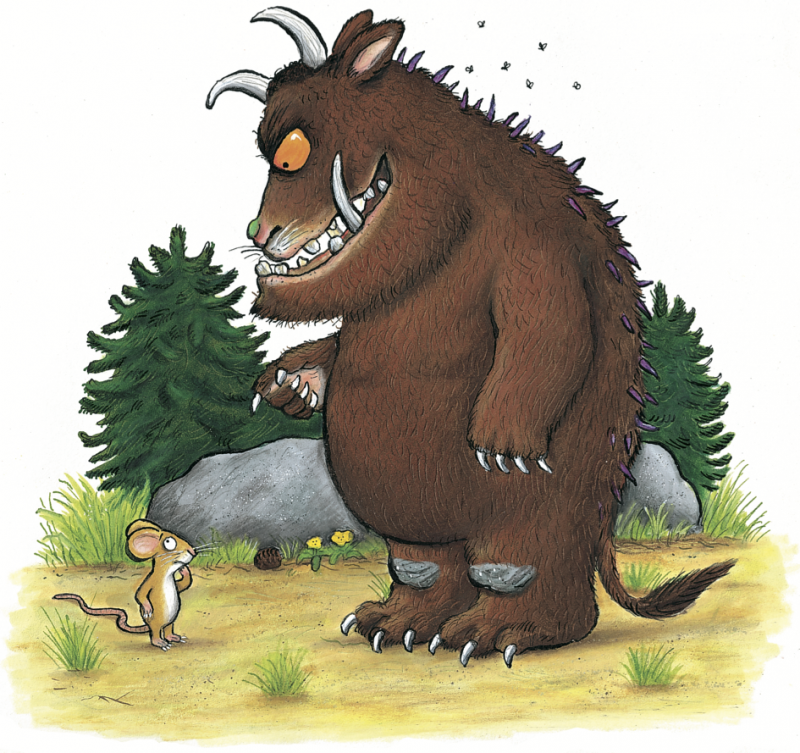 The Gruffalo © Julia Donaldson and Axel Scheffler 1999 — Macmillan Children's Books.png